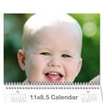 12calendar - Wall Calendar 11  x 8.5  (18 Months)