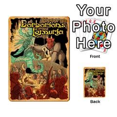 Bol Cards By Killerklown   Multi Purpose Cards (rectangle)   8fem91usq4cn   Www Artscow Com Back 17