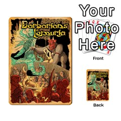 Bol Cards By Killerklown   Multi Purpose Cards (rectangle)   8fem91usq4cn   Www Artscow Com Back 24
