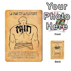 Bol Cards By Killerklown   Multi Purpose Cards (rectangle)   8fem91usq4cn   Www Artscow Com Front 27