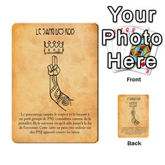 Bol Cards By Killerklown   Multi Purpose Cards (rectangle)   8fem91usq4cn   Www Artscow Com Front 35