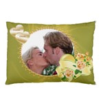 Lemon and lime Love hearts Pillow Case (2 Sided) - Pillow Case (Two Sides)