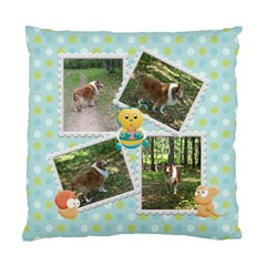 My Back Yard Double Cushion1 By Snackpackgu   Standard Cushion Case (two Sides)   H45j27qe8r3q   Www Artscow Com Back
