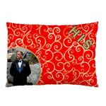 His Red and Gold pillow Case (2 Sided) - Pillow Case (Two Sides)