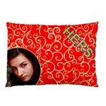 Hers Red and Gold pillow Case (2 Sided) - Pillow Case (Two Sides)