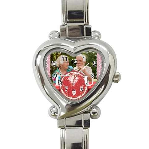 Love By Joely   Heart Italian Charm Watch   Pskz9kdgi3mf   Www Artscow Com Front