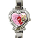 love - Heart Italian Charm Watch