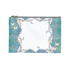 Flower Makeup By Misty Avery   Cosmetic Bag (large)   Ngbsfqa4ies1   Www Artscow Com Front