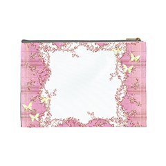 Flower Makeup By Misty Avery   Cosmetic Bag (large)   Ngbsfqa4ies1   Www Artscow Com Back