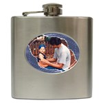 Denim Hip Flask - Hip Flask (6 oz)