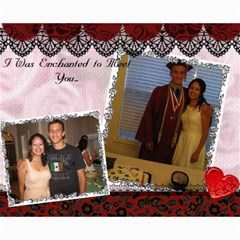 Valentines Day!!2012 By Angelica Puente    Collage 8  X 10    4tkbbmjncq8x   Www Artscow Com 10 x8 Print - 1