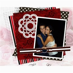 Valentines Day!!2012 By Angelica Puente    Collage 8  X 10    4tkbbmjncq8x   Www Artscow Com 10 x8 Print - 3