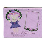 Pink Garden of Love - Cosmetic Bag (XL)