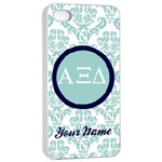 Alpha Xi Delta Sorority iPhone 4/4s Case - Apple iPhone 4/4s Seamless Case (White)