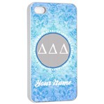 Delta Delta Delta Sorority iPhone 4/4s Case - Apple iPhone 4/4s Seamless Case (White)