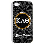 Kappa Alpha Theta Sorority iPhone 4/4s Case - Apple iPhone 4/4s Seamless Case (White)