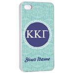 Kappa Kappa Gamma Sorority iPhone 4/4s Case - Apple iPhone 4/4s Seamless Case (White)