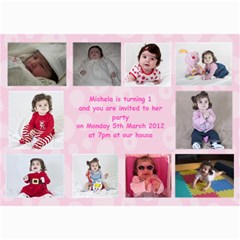 1year By Joseph Busuttil   5  X 7  Photo Cards   8z3o0os34tke   Www Artscow Com 7 x5 Photo Card - 9