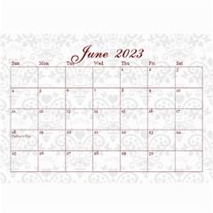 2015 February Start Red Love Heart Calendar By Claire Mcallen   Wall Calendar 8 5  X 6    Sz1qtfulieuk   Www Artscow Com Jun 2015