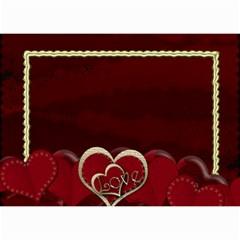 2015 February Start Red Love Heart Calendar By Claire Mcallen   Wall Calendar 8 5  X 6    Sz1qtfulieuk   Www Artscow Com Month