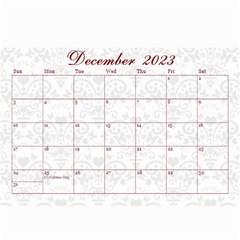 2015 February Start Red Love Heart Calendar By Claire Mcallen   Wall Calendar 8 5  X 6    Sz1qtfulieuk   Www Artscow Com Dec 2015