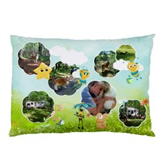 My Back Yard   Pillow Case 2 Sides By Snackpackgu   Pillow Case (two Sides)   Xlevli4znnp1   Www Artscow Com Back