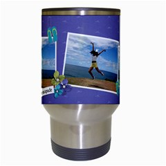 Travel Mug: Summer Escapade By Jennyl   Travel Mug (white)   Biagem9wcxtl   Www Artscow Com Center