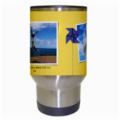 Travel Mug: Pinwheels By Jennyl   Travel Mug (white)   Hozjzp8cj9om   Www Artscow Com Center