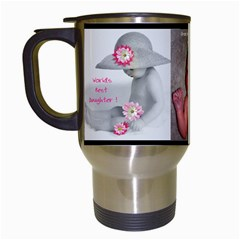 Daughter Mug By Birkie   Travel Mug (white)   Qvlp36xxft5d   Www Artscow Com Left