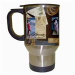 dad mug - Travel Mug (White)