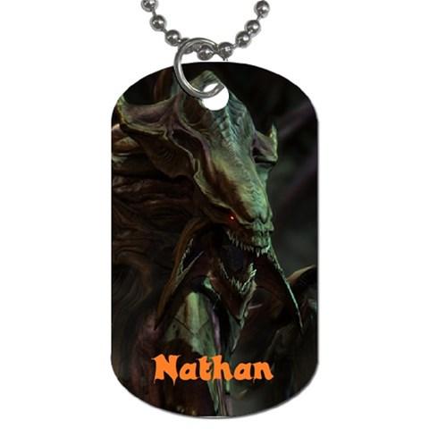 Nathan Hydralysk By Liam Watson   Dog Tag (one Side)   Inm3vza3w8gb   Www Artscow Com Front