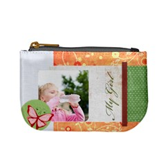My Girl By Joely   Mini Coin Purse   Nvs43ywnhfss   Www Artscow Com Front