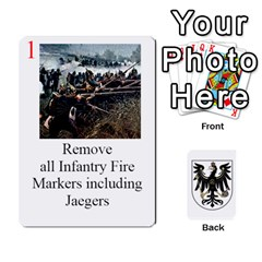 Prussian 1866/1870 Fob By Gerry Henry   Playing Cards 54 Designs   W6znj4jr8ceb   Www Artscow Com Front - Heart5