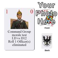 Prussian 1866/1870 Fob By Gerry Henry   Playing Cards 54 Designs   W6znj4jr8ceb   Www Artscow Com Front - Diamond4