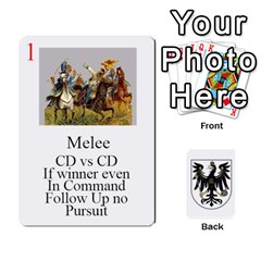 Prussian 1866/1870 Fob By Gerry Henry   Playing Cards 54 Designs   W6znj4jr8ceb   Www Artscow Com Front - Club2