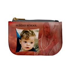 Sunday School Mini Coin Purse By Deborah   Mini Coin Purse   4tkc1vle6q5p   Www Artscow Com Front