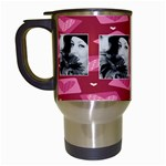 v Day love - Travel Mug (White)