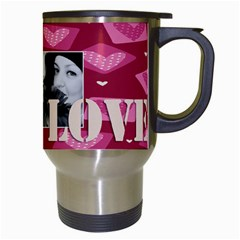 V Day Love By May   Travel Mug (white)   Ca8gi1q6r921   Www Artscow Com Right