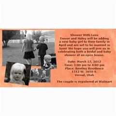 Invitation Ideas By Nadean   4  X 8  Photo Cards   7m7fr4t6hinj   Www Artscow Com 8 x4 Photo Card - 3