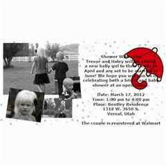 Invitation Ideas By Nadean   4  X 8  Photo Cards   7m7fr4t6hinj   Www Artscow Com 8 x4 Photo Card - 24