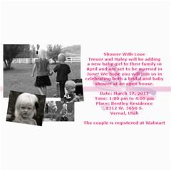Invitation Ideas By Nadean   4  X 8  Photo Cards   7m7fr4t6hinj   Www Artscow Com 8 x4 Photo Card - 77