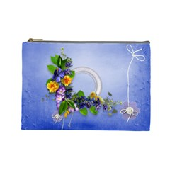 Spring Cosmetic Bag (l) By Elena Petrova   Cosmetic Bag (large)   Y51gmldw0pf0   Www Artscow Com Front