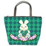 Harlequin Bunny bag - Bucket Bag