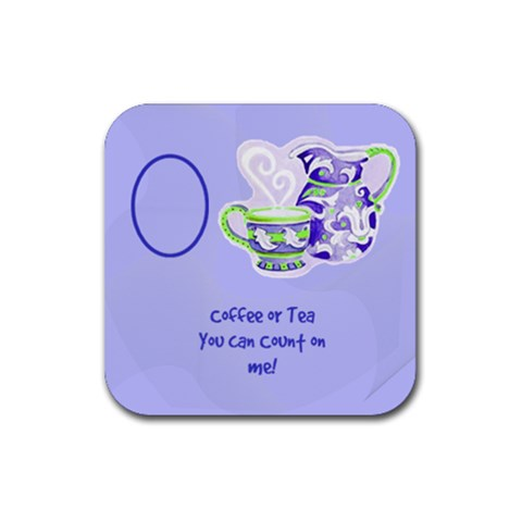 Coffee Coaster By Birkie   Rubber Coaster (square)   Rfl6x1m13bz0   Www Artscow Com Front