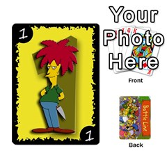 Simpsons Battle Line (deck 1) By Heath Doerr   Playing Cards 54 Designs   Bctyaoxvk2uy   Www Artscow Com Front - Spade2