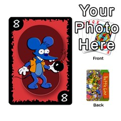 Queen Simpsons Battle Line (deck 1) By Heath Doerr   Playing Cards 54 Designs   Bctyaoxvk2uy   Www Artscow Com Front - SpadeQ