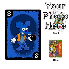 King Simpsons Battle Line (deck 1) By Heath Doerr   Playing Cards 54 Designs   Bctyaoxvk2uy   Www Artscow Com Front - SpadeK