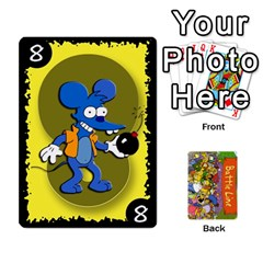 Ace Simpsons Battle Line (deck 1) By Heath Doerr   Playing Cards 54 Designs   Bctyaoxvk2uy   Www Artscow Com Front - SpadeA
