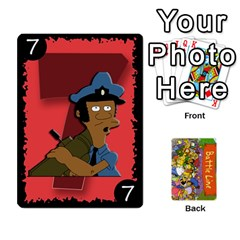 Simpsons Battle Line (deck 1) By Heath Doerr   Playing Cards 54 Designs   Bctyaoxvk2uy   Www Artscow Com Front - Heart5