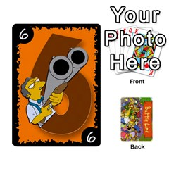 Simpsons Battle Line (deck 1) By Heath Doerr   Playing Cards 54 Designs   Bctyaoxvk2uy   Www Artscow Com Front - Heart8